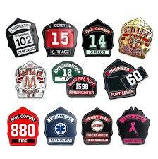 fire helmet shield leather fronts custom front shields