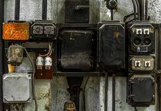 industrial fuse box on the wall stock photo image 30192690 industrial fuse box on the wall stock photography