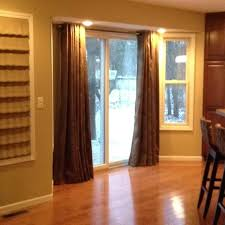 sliding door curtain rod sliding glass door curtains architects sliding door double curtain rod