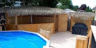 Pool House Tiki Bar House Pool Tiki Bar Nongzico