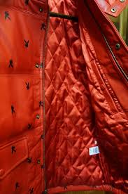 supreme supreme x 15aw leather puffy jacket down jacket