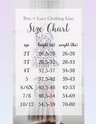 P L Size Chart Isabella Sage Boutique