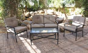 Outdoor Living Room Furniture Cambria 4 Pc Outdoor Living Room Furntiure The Dump Americas
