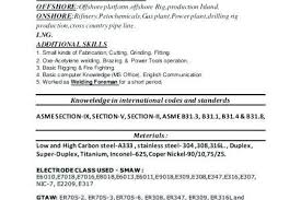Welder Resume Best Resume For Welding ] Resume For Welding Resume For Welding