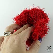 Red Heart Scrubby Yarn Patterns Beauteous Poppy Scrubby For Dishes Free Pattern Oombawka Design Crochet