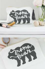 mama bear mama bear makeup bag mama bear bag mom life mom