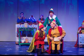 In addition to ray zupp's excellent set design capturing the storybook vibrancy of the north pole and the metropolitan esthetic of the big apple and specifically rockefeller center, tony award nominees sklar and beguelin (the wedding singer, the prom) create an array of tuneful, tender songs. Elf The Musical Jr Theater By Design