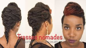 Coiffure Tresses Nomades Coiffure Protectrice Sur Cheveux Afro