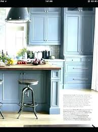 blue grey painted kitchen cabinets gorgeous blue