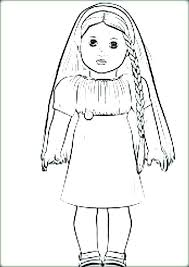 Free Printable American Girl Doll Coloring Pages For Printable