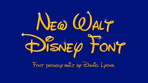 Disney Font New Waltograph Font Free For Personal Commercial