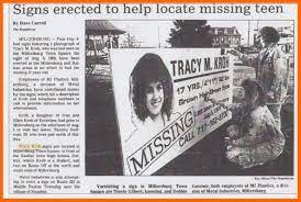 Disappearance of Tracy Kroh at Millersburg, 1989 (2) – Lykens Valley:  History & Genealogy