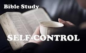 a bible study on self control a bible study on self control