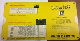Sorgel Transformer Chart Square D Motor And Transformer Data Calculator
