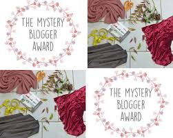 Image result for image of mystery blogger award logo