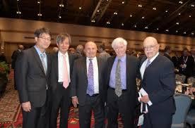 Paul E Haueter Award, Dr. Benjamin Tigner with R. Garavaglia and M ...