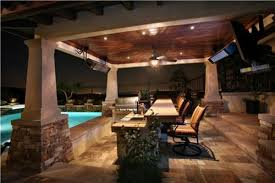 Covered Outdoor Kitchen Plans Outdoor Kitchen Living Room Areas Backyard Patios Design Ideas
