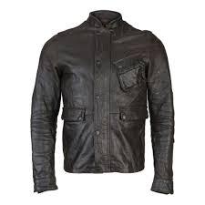 barbour thunder leather jacket