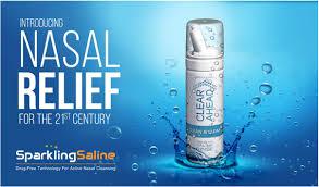 And help reduce symptoms of dry, irritated nose. Sparkling Saline Nasal Spray