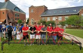 Asce Student Chapter Competes In National Steel Bridge Competition