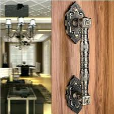 vine door pulls antique br pulls high quality antique br wood door handles bronze gate door
