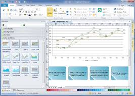 Easy Line Chart Maker Line Graph Charting Software