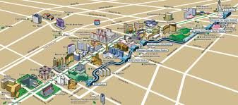 map of las vegas strip hotels  roundtripticketme