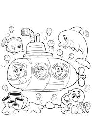 Kleurplaat Onderwaterdieren Nilpferd Malvorlagen Malvorlagen1001 De