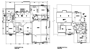 architectural house plan design 01