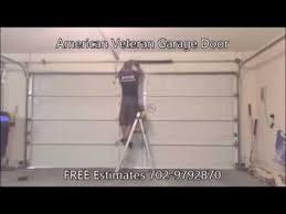 veteran garage doorGarage Door Repair Las Vegas American Veteran Garage Doors  YouTube