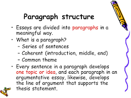 essay writing workshop ppt  paragraph structure essays are divided into paragraphs in a meaningful way what is a paragraph