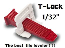 details about 1 32 t lock tile leveling system complete kit wall floor spacers clips leveler