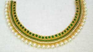 How To Make Designer Necklace How To Make Bridal Necklace Designer Necklace Diy