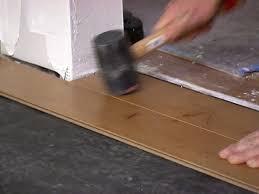 how to install floating hardwood floors on a slab