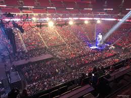 Little Caesars Arena Mezzanine 32 Concert Seating