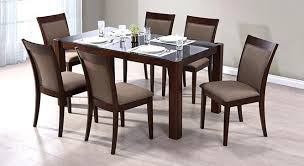 exquisite 6 seater dining room sets fresh ideas for dining table