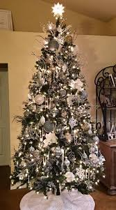 My Silver and White Christmas Tree