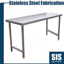 Stainless Steel Commercial Kitchen Standard Work Centre Preparation