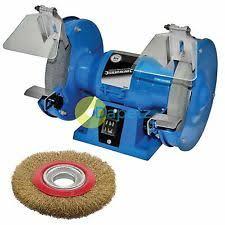 bench grinder wire wheel. 150mm bench grinder 230v 150w motor polisher grinding + wire wheel new e