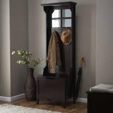 Coat Hook Rack With Mirror 100 inches wide httpwwwamazonEspressoEntrywayMirrorHooks 54