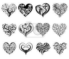 Plakát Tattoo Srdce