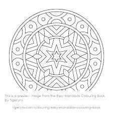Free Easy Mandalas To Print Mandala Coloring Pages Celtic