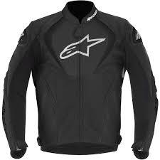 alpinestars jaws leather jacket black thumb 0