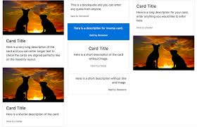 bootstrap masonry layout with card columns