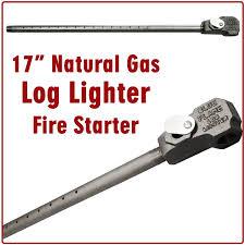 17 natural gas blue flame log lighter for wood burning