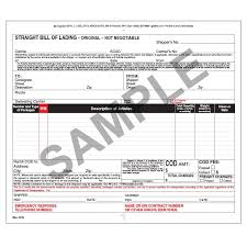 universal bill of lading straight bill of lading universal form snap out 3 ply w carbon