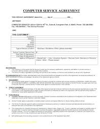 15 Sample Contract For Services Resume Statement