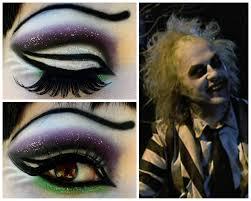 beetlejuice dramaticeyeshadow beetlejuice makeup beetlejuice costume beetlejuice tattoo town