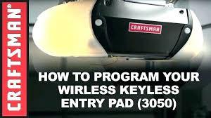 reprogramming craftsman garage door opener reprogram craftsman garage door opener how to program a keypad sears reset code craftsman garage door opener