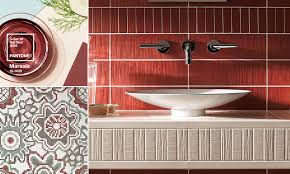 color of the year marsala tiles 2016